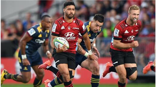 Crusaders continúa a paso firme